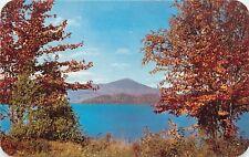 Lake Placid Whiteface Inn Mountains Adirondacks Ny autumn fall scene Postcard