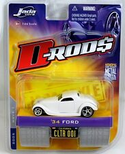 Jada Toys D-Rods White 1934 Ford diecast