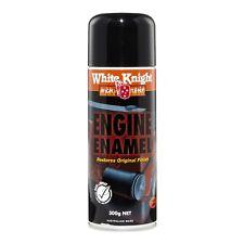 White Knight High Temp 300g Flat Black Engine Enamel Spray Paint