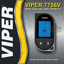 Viper 7756V 2-Way 1-Mile LCD Add-On Remote Control For The Viper 3606V