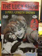 The Lucy Show Vol 4 DVD 3 Episodes I Love Lucy Lucille Ball NEW & SEALED
