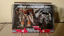 Transformers Movie 2007 Battle Over Mission City Megatron Jazz Target MISB