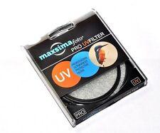 Maxsimafoto 62mm Pro MC UV filter fits Fujifilm X-S1 Superzoom & Sony RX10