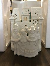 Partylite Village Carolers Tealight Candle Holder White Bisque P0204 Christmas