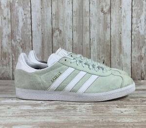 Adidas Gazelle Suede Sneakers Ice Mint Green Women's Size 10
