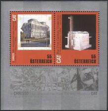 Austria 2009 CRISTO javashev/ARTE MODERNA/CONTEMPORANEA/Scultura 2 V M/S (at1123)
