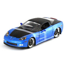 CHEVROLET CORVETTE Z06 1:24 Scale Metal Diecast Car Model Die Cast Miniature