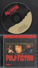 PULP FICTION Soundtrack Collector's Edition CD W BONUS TRACKS freepost worldwide
