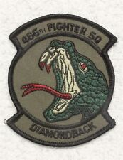 USAF Air Force Patch: 466th Fighter Squadron - subdued