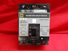 Square D Circuit Breaker Fal34100; 100Amp, 3-Pole, 480Vac New In Box