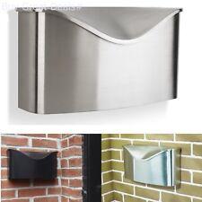 Umbra 460322-592 Postino Wall-Mount Mailbox, Stainless Steel New