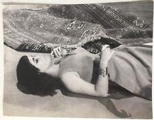 1963 Elizabeth Taylor Original Photos From Cleopatra Stamped Twentieth Century
