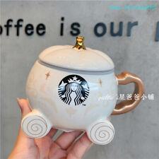 Starbucks 12oz Christmas Limited Edition Pumpkin Car Mug Lovely Goddess Mug New