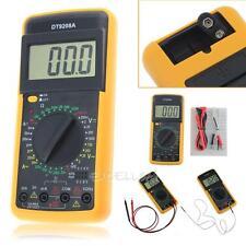 DT-9208A Digital Multimeter Volt Amp Ohm LCD AC/DC Temperature Meter Hz Tester