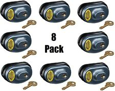 (8) ea Master Lock 90KADSPT-P413 Keyed Alike Gun Trigger Locks