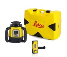 Rotating Laser Leica Rugby 680 with RodEye160 and Alkaline Package 6006009