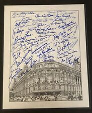 Ebbets Field Brooklyn Dodgers Multi-Signed Litho with Snider & Reese MLI/COA