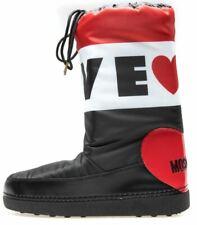 Love Moschino Moon Boots botas zapatos Señora Weiss invierno botas talla 41 42 nuevo