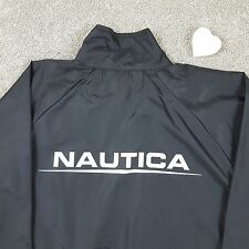 Vintage Nautica Competition Challenge Full Zip Spell Out Windbreaker Jacket 90s