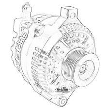 Tuff Stuff Alternator 8266A8G; 6G 110 Amp Chrome for 2003-04 Mustang Cobra (S/C)