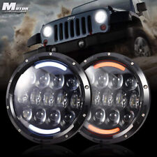 DOT For Volkswagen Vanagon 1980-1985 2X Led Projector Headlight Lights Halo Kit