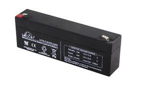 LP12-2.3 Leoch 12 volt 2.3Ah Sealed Lead Acid 12 V Battery