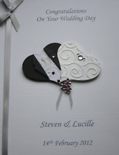 Personalised Wedding Congratulations Card Son/ Daughter/ Friend etc