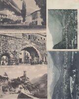 AOSTA VALLEY ITALY ITALIA 75 Vintage  Postcards Mostly pre-1940.
