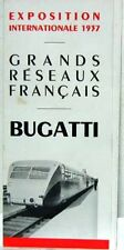 1937 AUTORAIL  ETTORE BUGATTI  800 CV 4 MOTEURS
