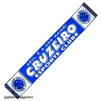 ECHARPE CRUZEIRO Brésil scarf schal cachecol sjaal no drapeau maillot fanion ...