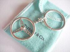 Tiffany & Co. 925 silver Picasso Sterring Wheel Key Chain Key ring RARE