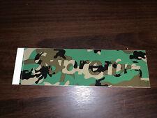 Supreme Blue CAMO box logo Sticker pack FW20 100/% Authentic Sealed