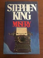 Misery By Stephen King - 1st Printing/First Edition UK Edition