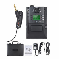 UHF Professional Wireless Guitar System Transmitter + Receiver 32 Channels