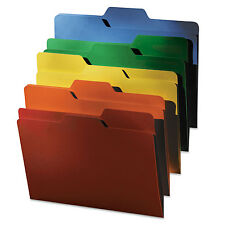 Find It FindIt File Folders 1/3 Cut 11 Pt Stock Letter Assorted 80/PK FT07070