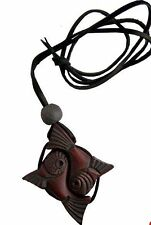 Cedar Wood Amulet - Yin and Yang