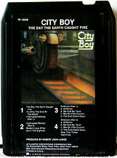 CITY BOY The Day The Earth Caught Fire 8 TRACK TAPE  CARTRIDGE