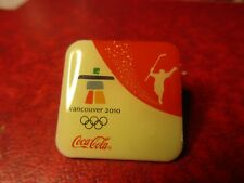 2010 Coca Cola Vancouver Olympic Pin