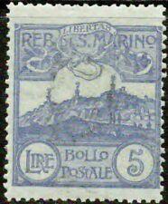 SAN MARINO  – 1925   – MOUNT TITANO  – VF  **