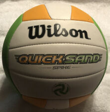 Wilson WTH4898 Quicksand Strike  Volleyball Lime/Orange Official Size & Weight