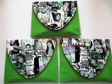Magazine Clutch Trendy Ladies Crossbow Purse Handbag Color Fashion Wallet Green