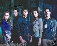 """Teen Wolf MTV Show RP 8x10"""" signed autographed Cast Photo #1"""