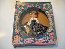 "1950 Vintage Dream 8"" Doll An Elite Creation Sleeping Eyes Black Ivory in Box"