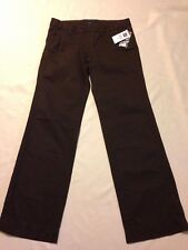 nwt Gap Original Ankle Brown Pants women's size 2 Ankle (waist 31 inseam 30)