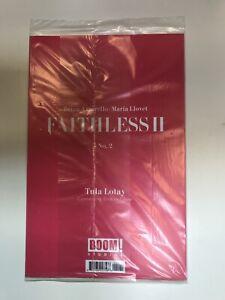 Faithless II #2 Cover B Erotica Connecting Variant  RECALLED POLLY BAG ERROR