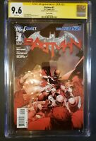 Batman #1 CGC 9.6 Signed by Scott Snyder (2012 Apr, DC) New 52 Third Print