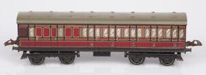 Hornby O Gauge No. 2 LMS Passenger Coach Brake / 3rd 22705