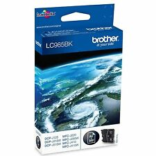 Brother LC985BK Black (Yield 300 Pages) Inkjet Cartridge