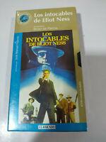 Los Intocables de Elliot Ness Brian de Palma - VHS Cinta Español Nueva