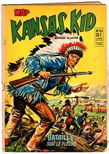 NAT PRESENTE : KANSAS KID n°63 ¤ 1955 ¤ PERIODIQUES EDITIONS ILLUSTREES